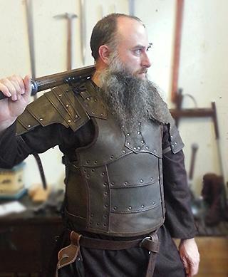 Armure Viking en cuir | La boutique médiévale